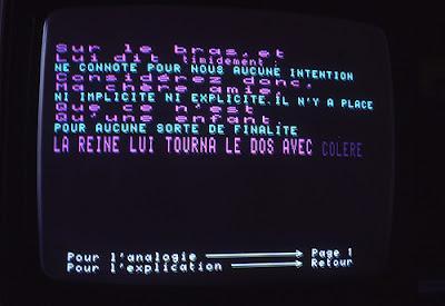 Roy Ascott, Minitel, 1985, Les Immatériaux
